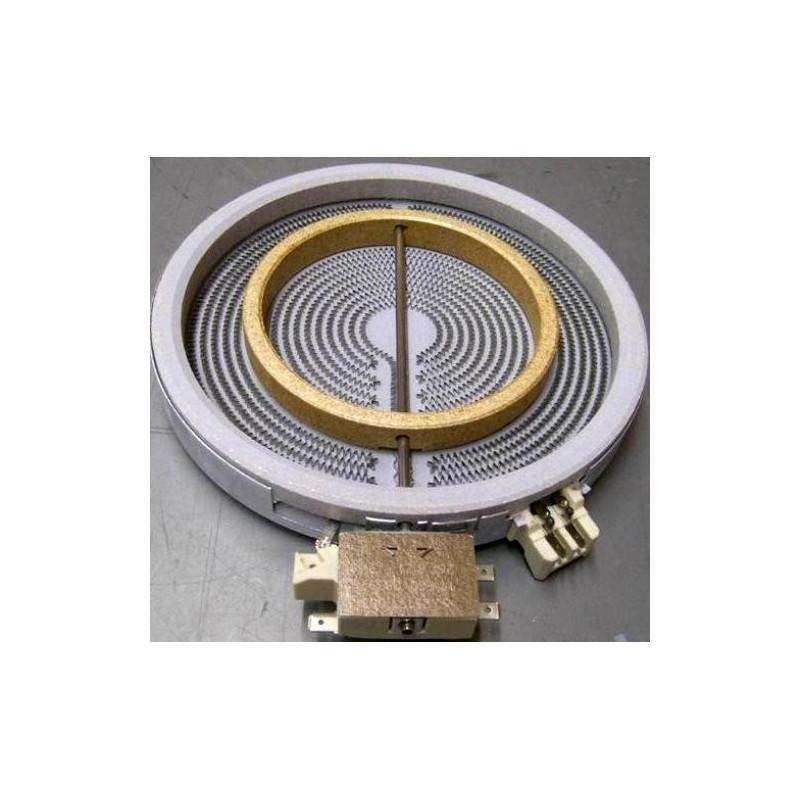 BEKO elektripliidi küttekeha keraamilisele pliidile laiendatava keedualaga 162260006