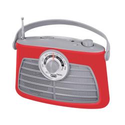 Raadio TREVI RA763 PUNANE