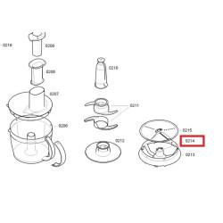 BOSCH köögikombaini riivide hoidik 00606480