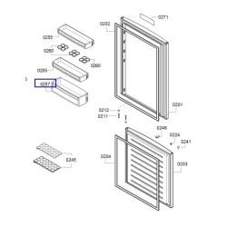 Külmiku ukseriiul Bosch