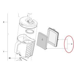 Philips tolmuimeja paagi filter 432200533153