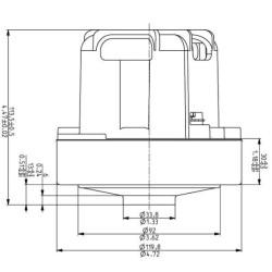 Philips tolmuimeja mootor