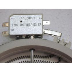 Keraamilise pliidi küttekeha 1200W 165mm 1652032812