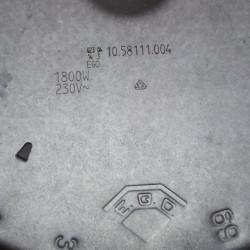 Keraamilise pliidi küttekeha 1800W 200mm 10.58111.004