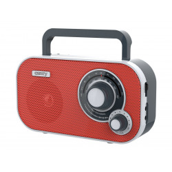 Raadio Camry CR1140P, punane