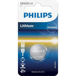 Patarei CR2032 Philips 3V