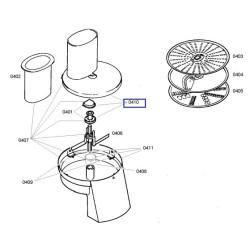 Bosch köögikombaini anuma kaas 00499160