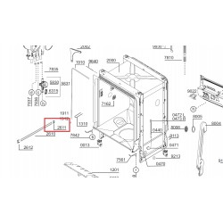 Nõudepesumasina ülemise korvi siini kork BEKO 1732840100