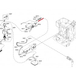 Espresso surveühendus kolmik Bosch 00614618