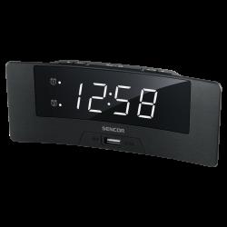 Цифровые часы с будильником...