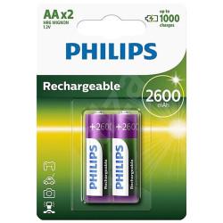 Akupatarei Philips AA 2600...