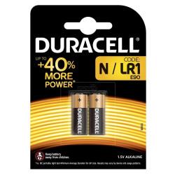 Батарейка Duracell LR1, 2 шт