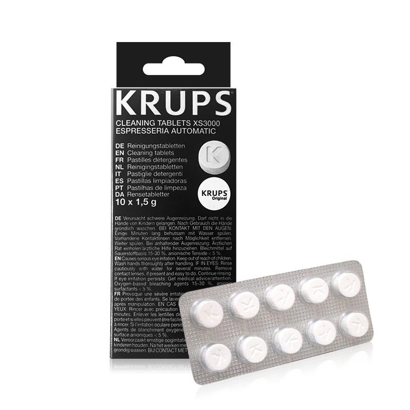 Loputustabletid Krups espressomasinale 10tk pakis