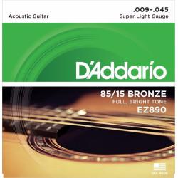 Kitarrikeeled DAddario EZ890