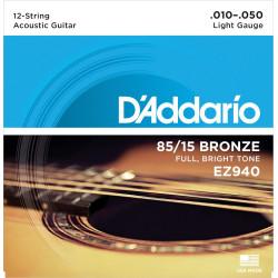 Kitarrikeeled DAddario EZ940