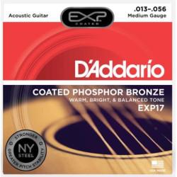 Kitarrikeeled DAddario EXP17
