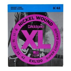 Kitarrikeeled DAddario EXL120