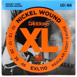 Kitarrikeeled DAddario EXL110