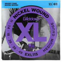 Kitarrikeeled DAddario EXL115