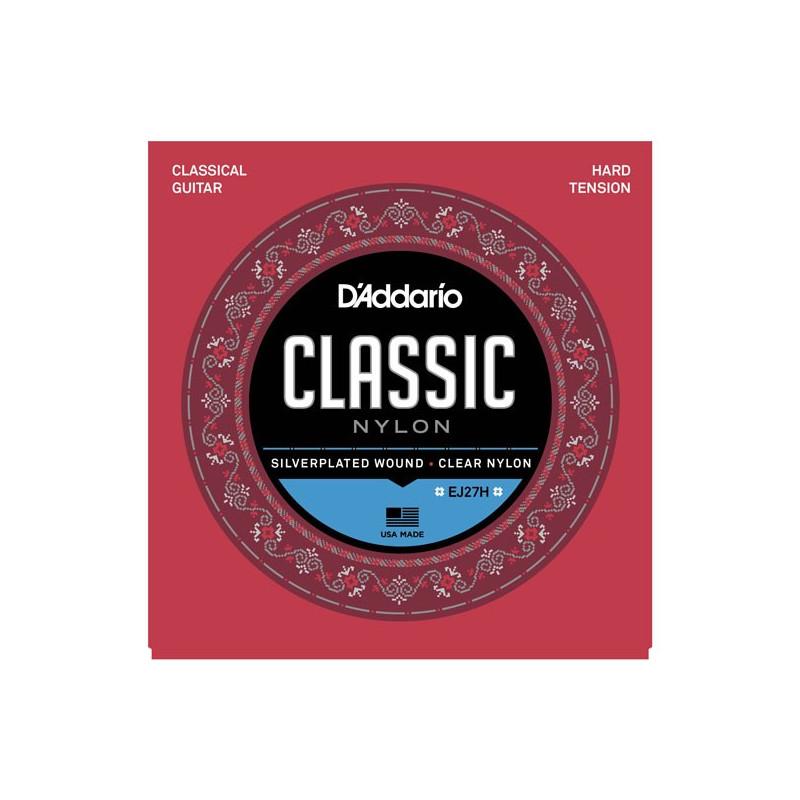 Kitarrikeeled DAddario Classic EJ27H Nylon