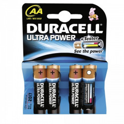 Patarei Duracell Ultra AA/LR6