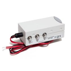 Toiteliitja TRIAX võimendiga antennidele IFP529 2 väljundit, 12-24V