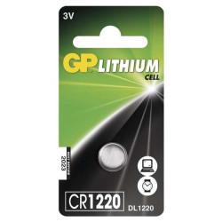 GP CR1220 liitium patarei