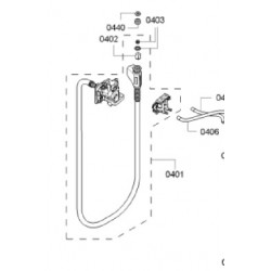 BOSCH pesumasina Aquastop vee sisselaskevoolik 11002474