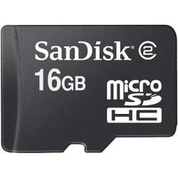 SDHC mälukaart SANDISK (16 GB)
