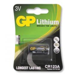 GP CR123A liitium patarei