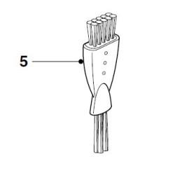 Philips juukselõikaja/ pardli puhastusharjake 422203602770