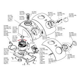 Bosch blenderi masinapoolne muhv 00423561
