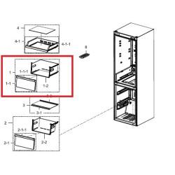 Samsung külmiku juurviljasahtel DA97-17254A
