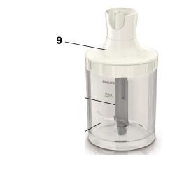 Редуктор чаши 1000ml для блендера Philips ProMix 420303607791