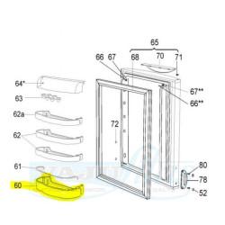 Snaige külmiku ukseriiul D357234-D