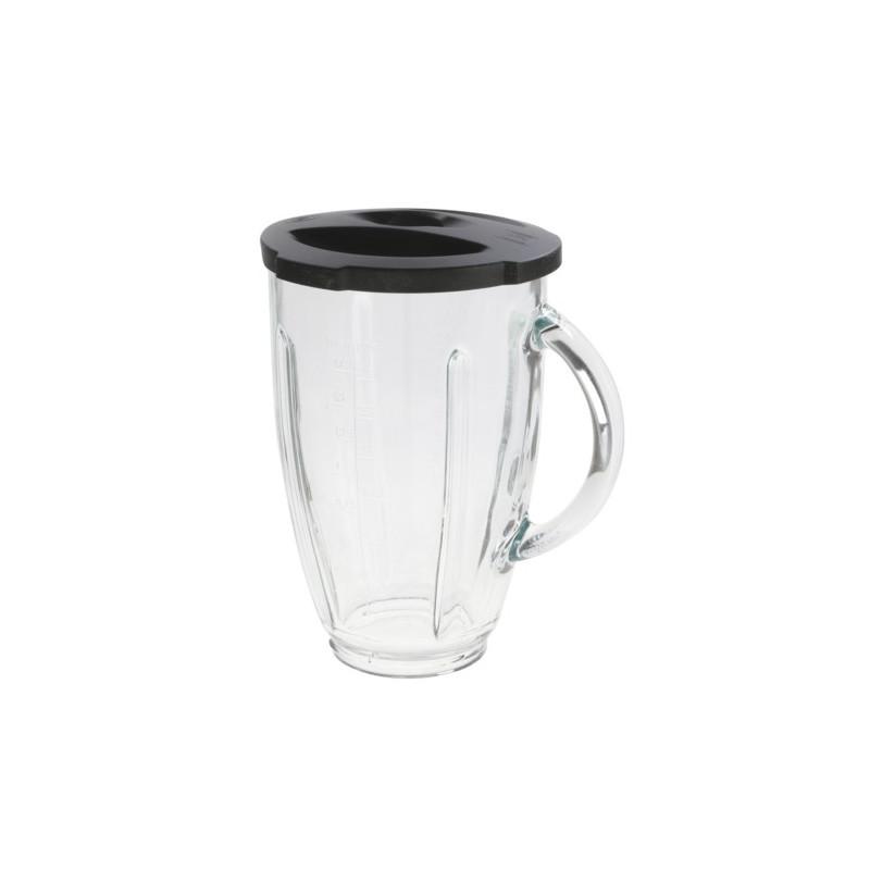 Стеклянный стакан блендера BOSCH с крышкой, без цоколя и ножа, для