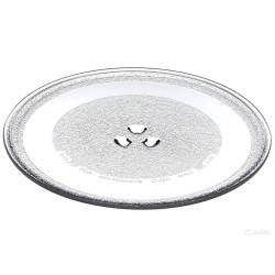 Тарелка стеклянная (поддон) для свч микроволновых печей SAMSUNG 255mm
