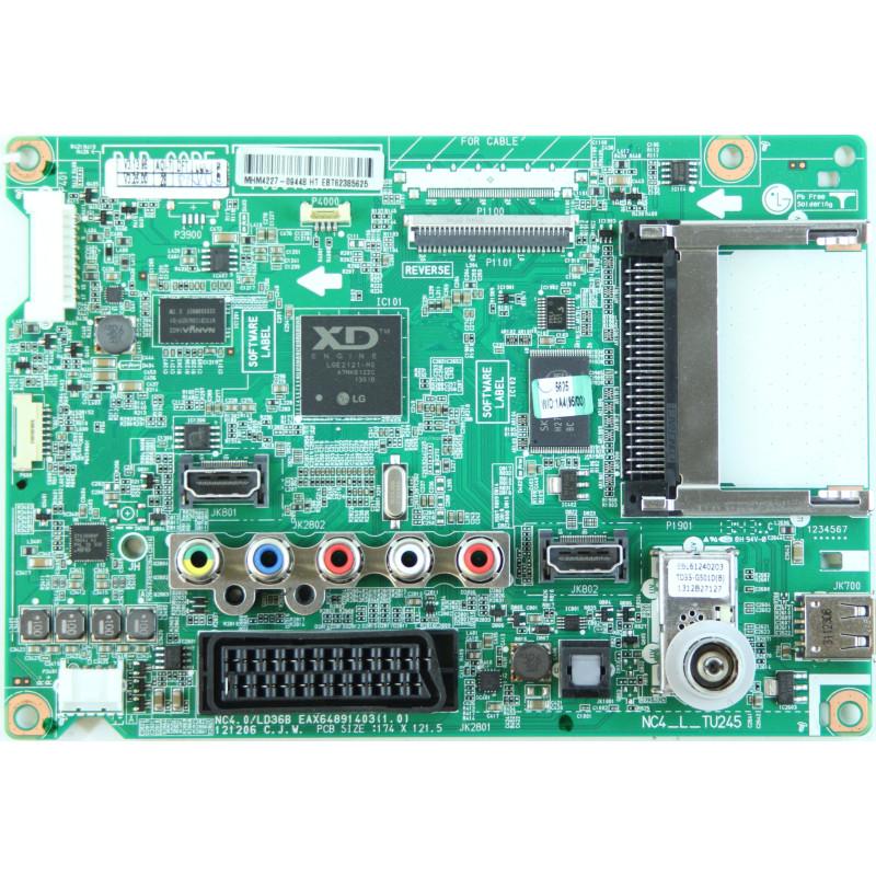 LG televiisori emaplaat EBT62385625