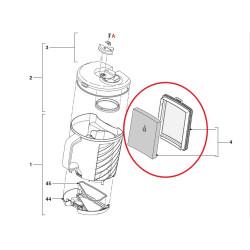 Philips tsüklon tolmuimeja filter