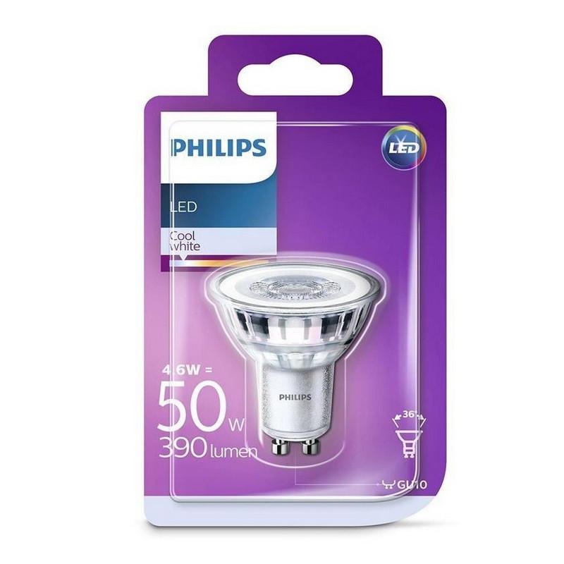 LED lamp Philips GU10 4,6 W (50 W)