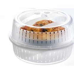 Toidukaas mikrolaineahjule Dunya 26cm, ventileeritav