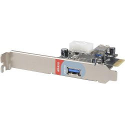 USB 3.0 kaart PCI express Akasa AK-PCCU3-02