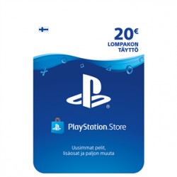 PlayStation Sony Network Live kaart (€20)