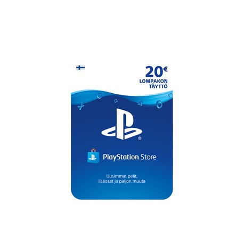 PlayStation Sony Network Live kaart (€20)