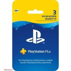 PlayStation Plus liikmekaart, Sony (3 kuud)
