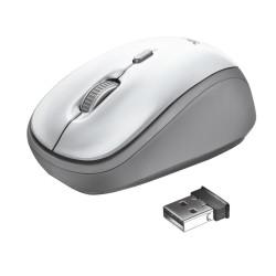 Juhtmega optiline hiir Trust 23386, valge