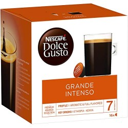 Kohvikapslid Nescafe Dolce Gusto Grande Intenso, Nestle 16tk