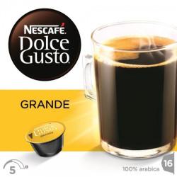 Кофейные капсулы Nescafe Dolce Gusto Grande Aroma, 16 шт
