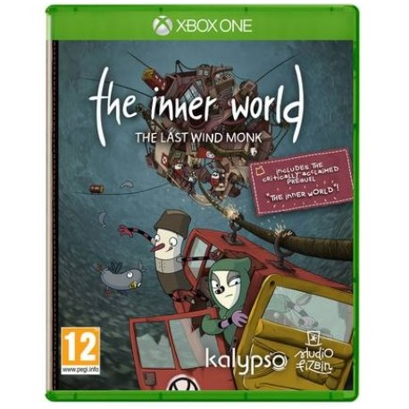 Xbox One mäng The Inner World The Last Wind Monk