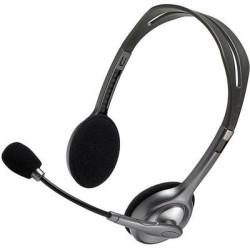 Kõrvaklapid mikrofoniga Logitech H110